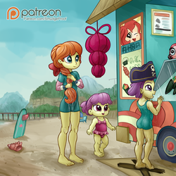 Boys be Beach (Patreon) by Smudge-Proof