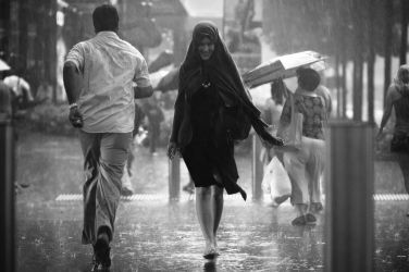 A Smile in the Rain by dannyst