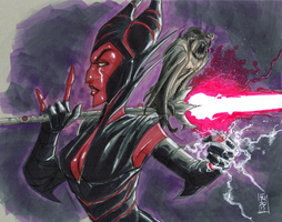Darth Maleficent by Hodges-Art