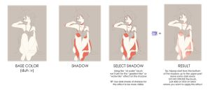 Skin Coloring Tutorial - Anime Style by Curryn-chan