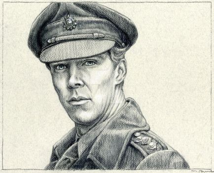 Benedict Cumberbatch from Parade's End by mfreed