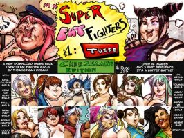 SUPER FAT FIGHTERS TUBBO I - Cheesecake Edition by TheAmericanDream