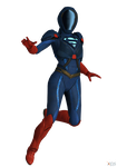 Injustice 2 (IOS): Multiverse Armored Supergirl. by OGLoc069