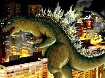 Godzilla KING OF THE MONSTERS by The-Switcher