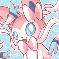 F2U Sylveon Icon by Kiwicide