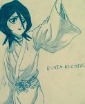 Rukia from bleach by briethebee