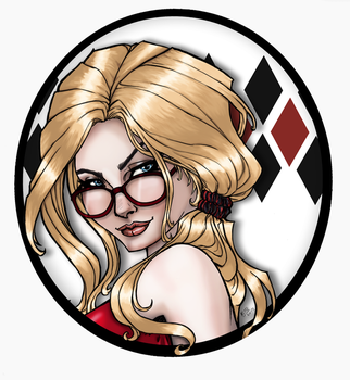 Harleen Portrait by KittysTavern