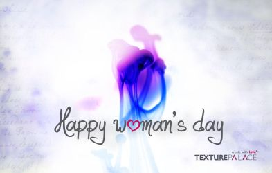 Happy woman's day by texturepalace