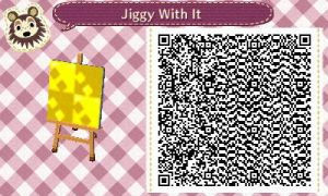 Animal Crossing Pattern - Gettin' Jiggy With It by Freezair