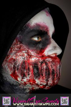 Side Profile of Zombie Mouth VisualEyeCandy