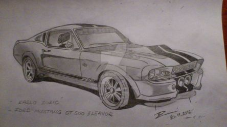 eleanor gone in 60 seconds by zoky88