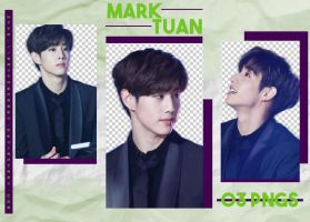 MARK TUAN (GOT7) #1 - PNG PACK by saythenamex