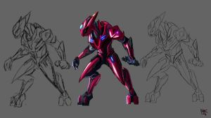 Sangheili Speed-Paint Concept by Rythye