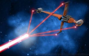 B-Wing Composite Beam Weapon by Ravendeviant