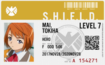 Shield agent Mai tokiha by connorm1