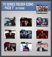 TV Series Folder Icon - Pack 7 by DYIDDO