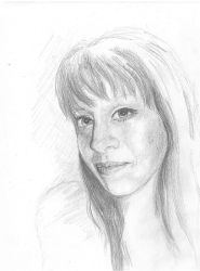 SKETCH - LOVELY LISA by alivethroughart