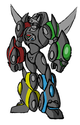 Stealth Voltron by Superrobofan