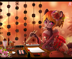 CM: +Cafe Sushi+ by Shide-Dy