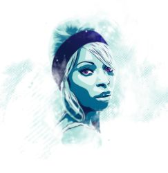 Mary J Blige|Vector tribute by Psycool