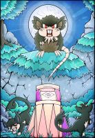 Totem Raticate: Moon's First trial - Pokemon
