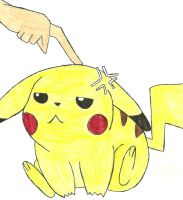 I Poked Your Pikachu by RainbowGlassAlice