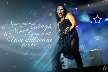 Tarja Never Enough by Darling55