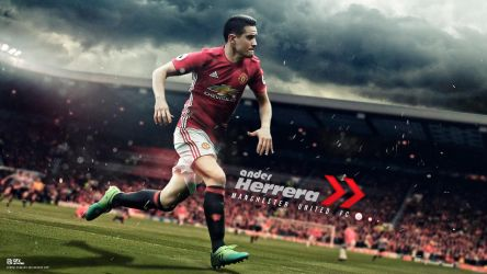 Ander Herrera - Man Utd's future Captain by nirmalyabasu5