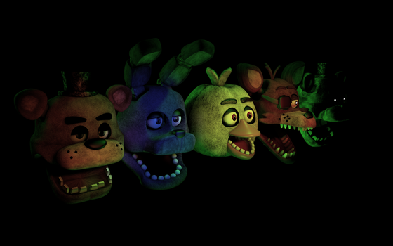Heads, heads and more heads. by HeroGollum