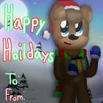 Happy Hoildays Christmas Card: FNaF Edition by cjc728