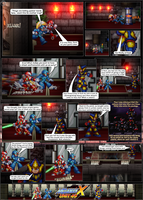 MMX:U49 - S1Ch9: Reception Hall (Page 1) by IrregularSaturn