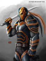DeathStroke - Silent Assassin by jay911sf