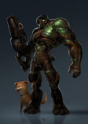 Alien soldier by cloudintrousers