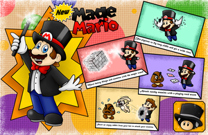 New Power-Up Idea: Mage Mario! by BoxBird