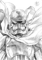 Captain Phasma Sketch Pencils by ARTTHAM