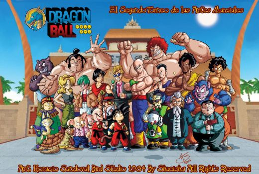 DRAGON BALL The Second Martial Arts Tournament by Galtharllin