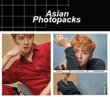 Photopack 1649 // SeHun (EXO) by xAsianPhotopacks
