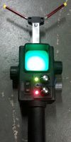 The Real Ghostbusters Cartoon style PKE Meter prop by firebladecomics