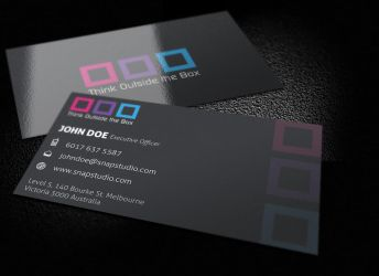 Box Business Card by KaixerGroup