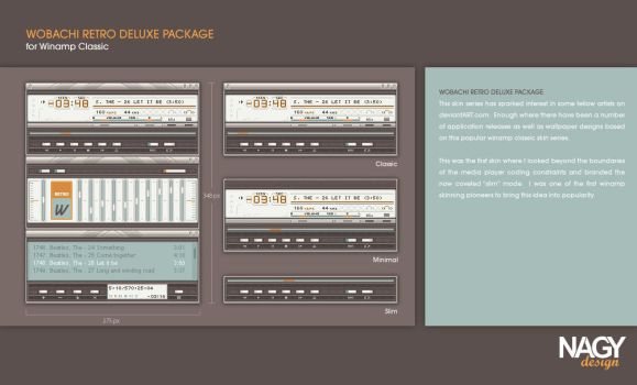 Wobachi Retro Deluxe Package by mattnagy