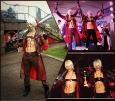 Dante vs Doppelganger - Best Couple Videogame DMC by LeonChiroCosplayArt
