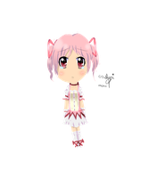 .: Madoka :. by WaterBlizzard