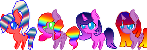 Gradient adopts by rockythebunny13