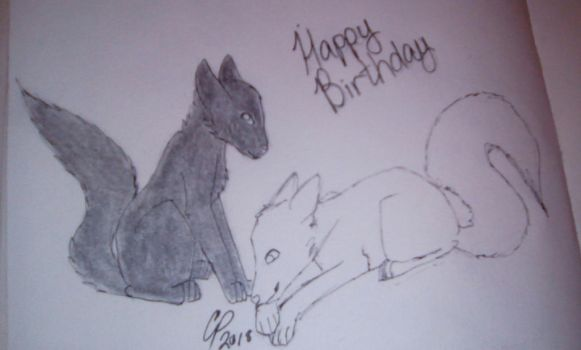 Two parts of a Whole .:B-Day Gift:. by Wolf--Prime