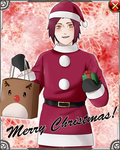 Christmas Takeshi Card by anniberri