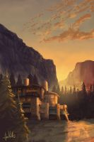 Yosemite Hotel by chateaugrief