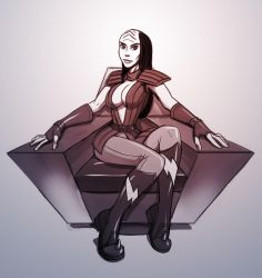 CCD - Klingon Chick for Tulon by mastermead