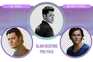 Blair Redford PNG Pack by Weirdly-PNGS