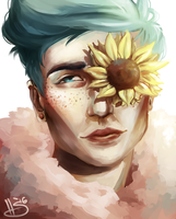 Sunflower by MrThesaurus