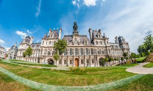 Paris Town Hall by Anantaphoto